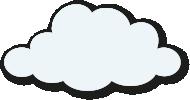 White cartoon cloud small Storybook Montessori Nursery Ascot 12