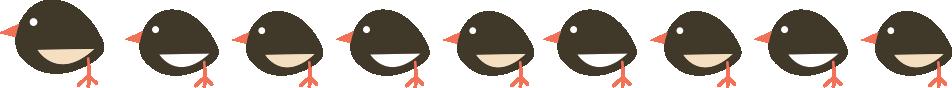 Chicks in a line Storybook Montessori Nursery Ascot 18