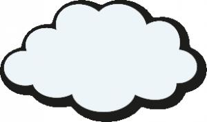 White cartoon cloud large Storybook Montessori Nursery Ascot 14