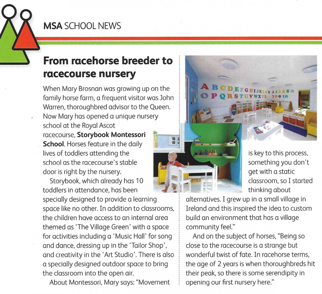 Storybook Montessori Schools Association